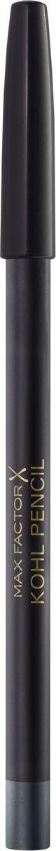 Max Factor Карандаш для глаз Kohl Pencil, тон №050 Charcoal grey, цвет: темно-серый clarins набор для выразительного взгляда набор для выразительного взгляда