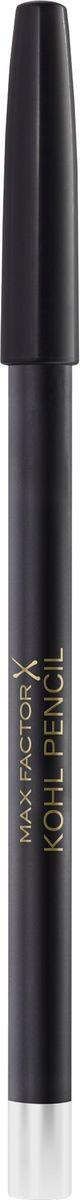 Max Factor Карандаш для глаз Kohl Pencil, тон №010 White, цвет: белый clarins набор для выразительного взгляда набор для выразительного взгляда