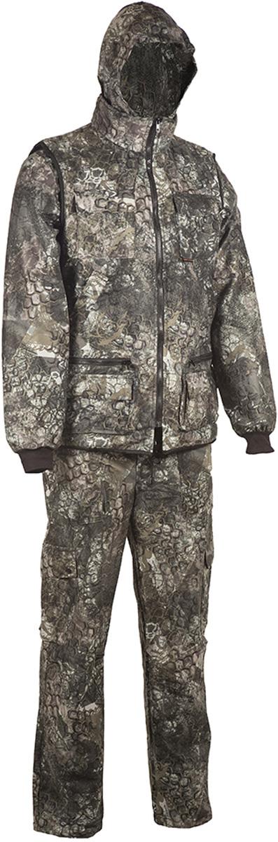 Костюм рыболовный HUNTSMAN костюм рыболовный мужской huntsman тайга 3 цвет темный лес t 100 sm 702 размер 44 46