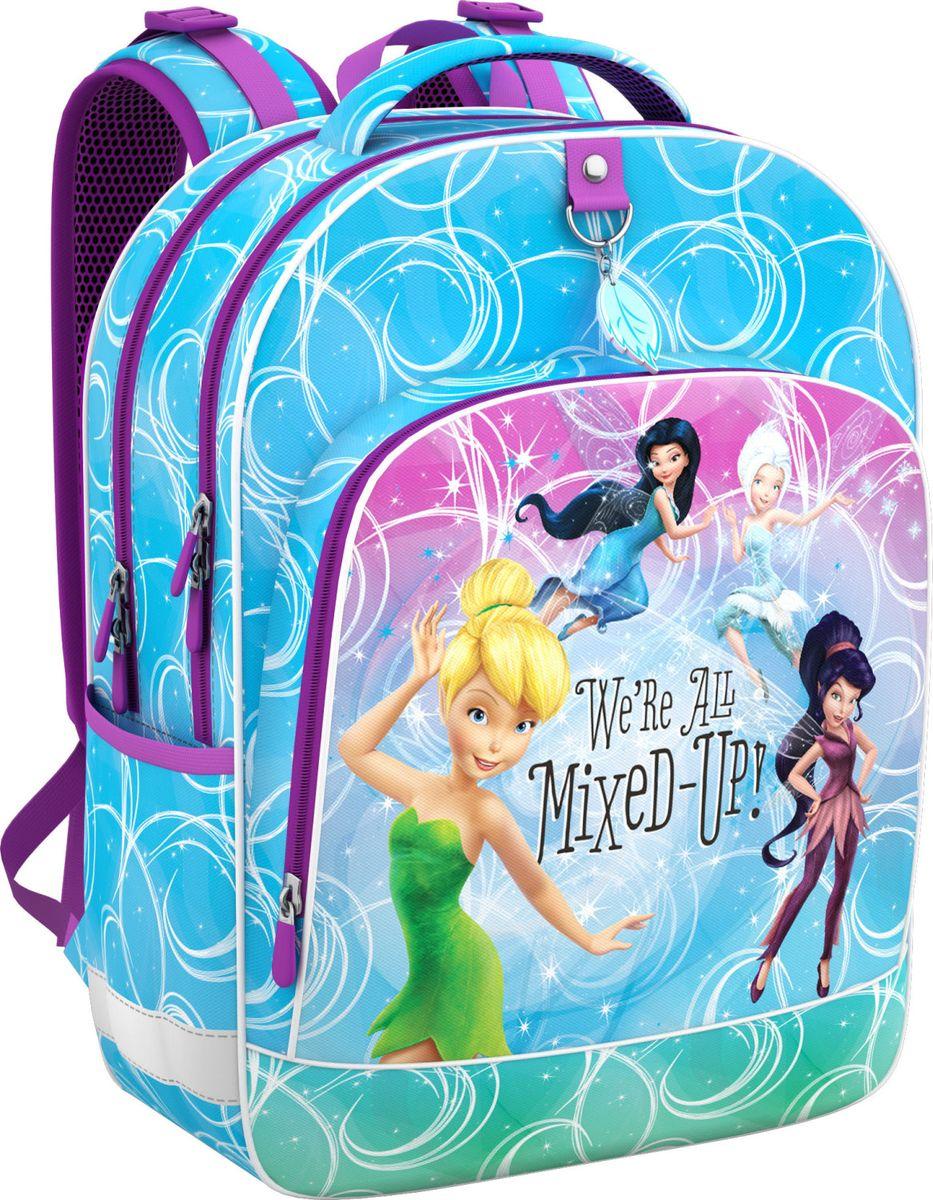 Рюкзак школьный Феи Disney Цветочная вечеринка