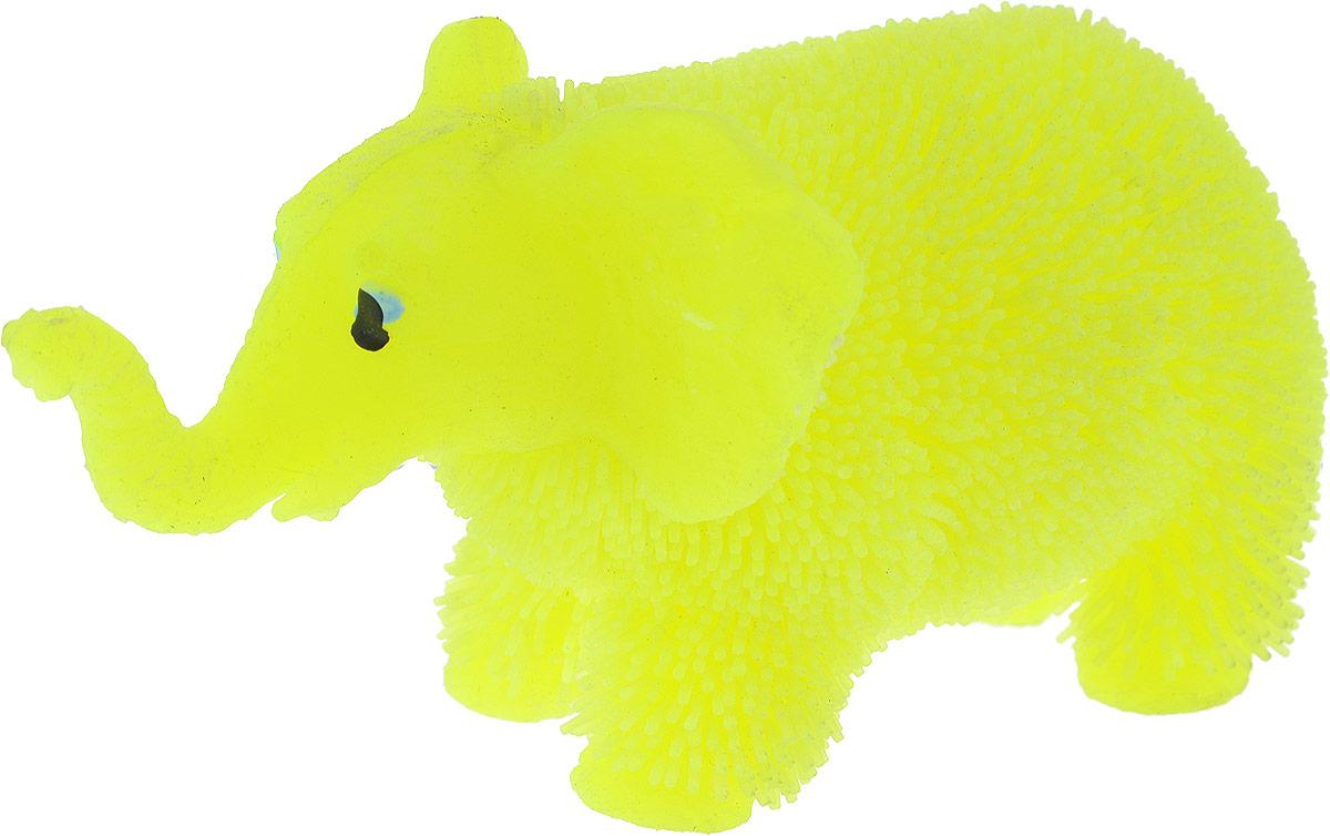 1TOY Антистрессовая игрушка Нью-Ёжики Слоник цвет желтый