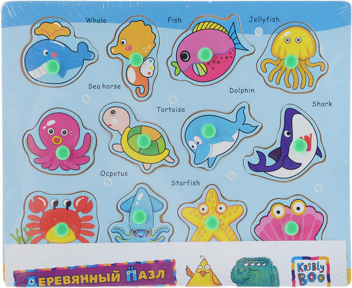 Kribly Boo Пазл для малышей Подводный мир