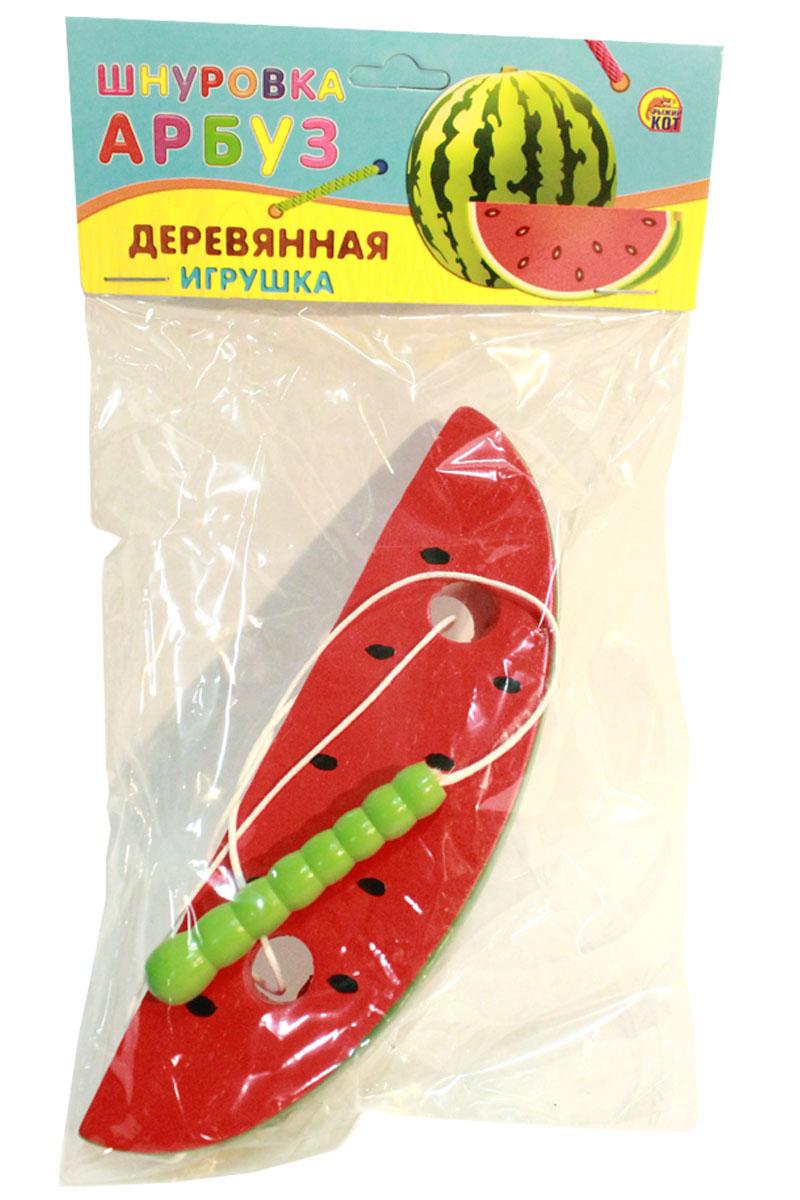 Рыжий Кот Игра-шнуровка Арбуз цена 2017