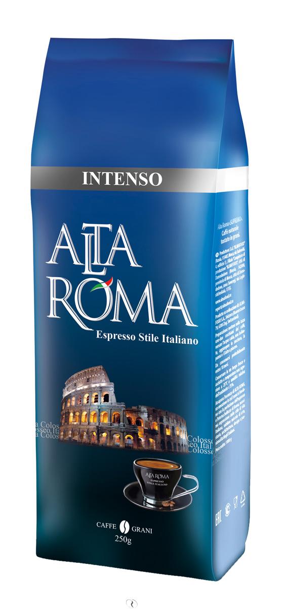 Altaroma Intenso кофе в зернах, 250 г altaroma vero кофе молотый подарочный набор 250 г