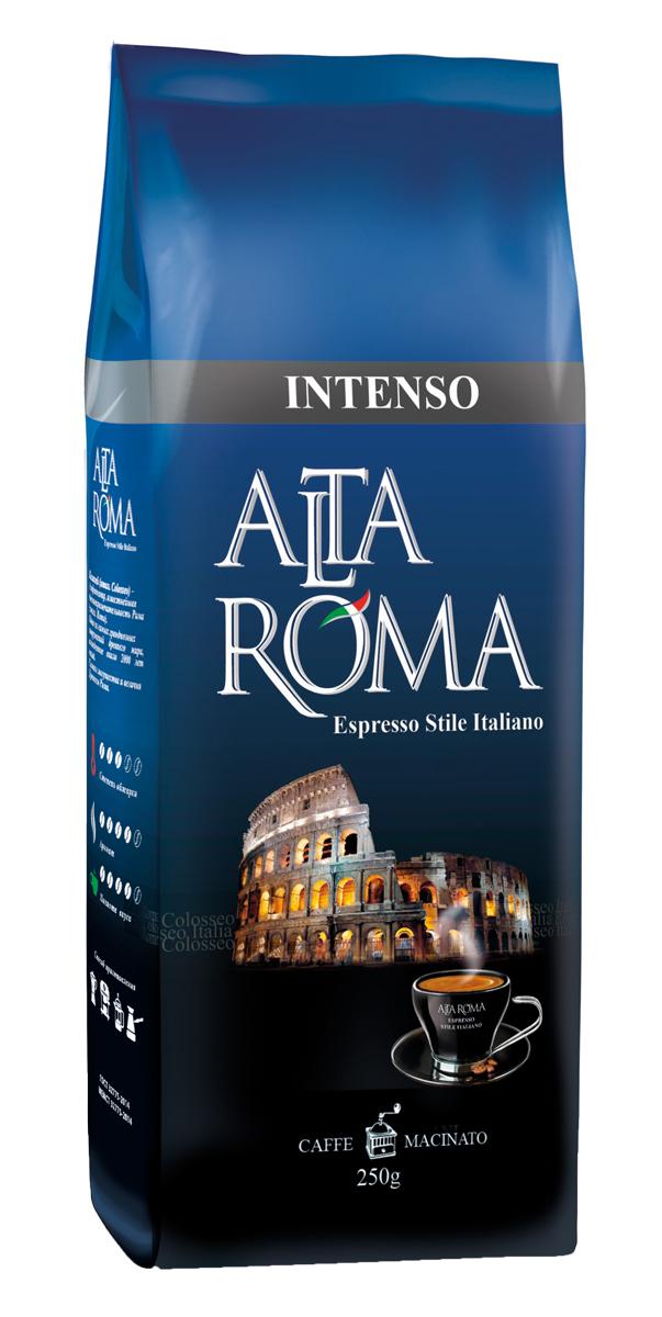 Altaroma Intenso кофе молотый, 250 г altaroma vero кофе молотый подарочный набор 250 г