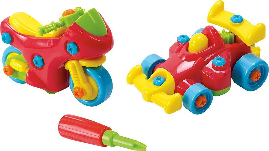 PlayGo Набор Юный механик с мотоциклом и гоночной машиной