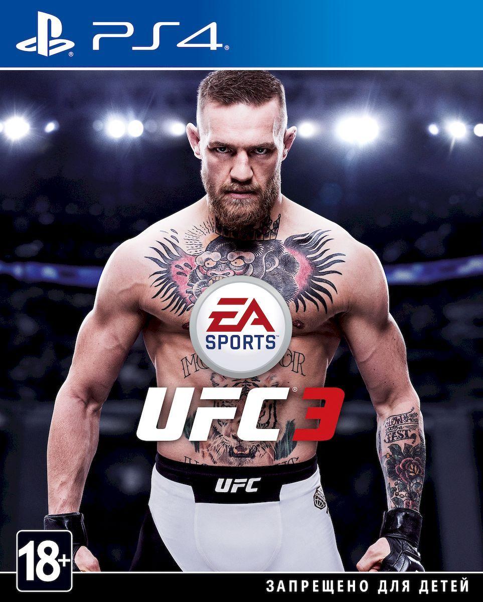цена на Игра UFC 3 для PS4 Sony