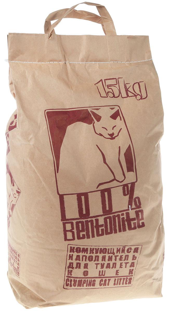 Наполнитель для кошачьего туалета, комкующийся, 15 кг Уцененный товар (№88)