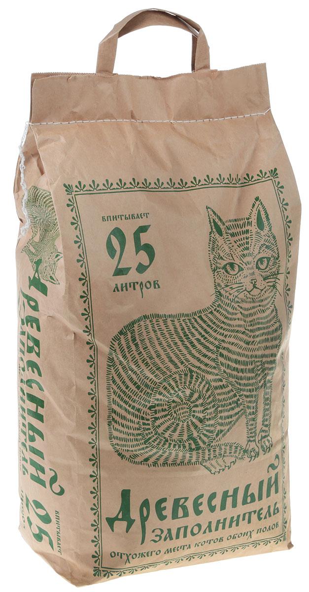 Наполнитель для кошачьего туалета, впитывающий, древесный, 25 л наполнитель для кошачьего туалета vitaline из лиственных пород древесины 4 5 л