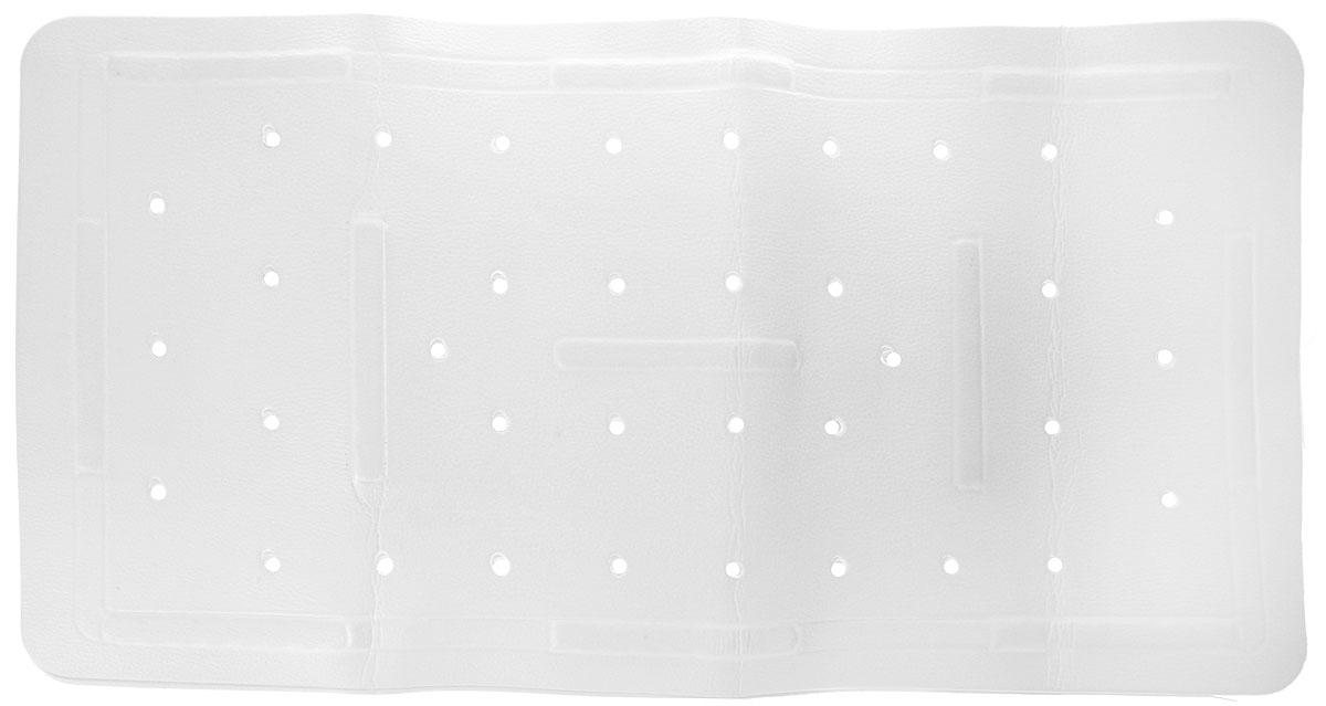 Коврик в ванну Bacchetta, цвет: белый, 36 х 71 см коврик в ванну bacchetta fiore цвет синий 36 х 71 см