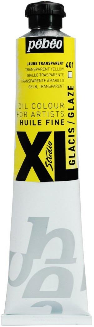 Pebeo Краска масляная XL Glaze цвет желтый 80 мл