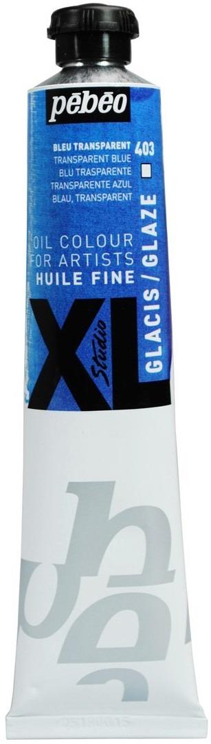 Pebeo Краска масляная XL Glaze цвет синий 80 мл