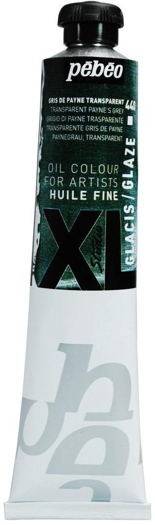 Pebeo Краска масляная XL Glaze цвет серый Пейна 80 мл