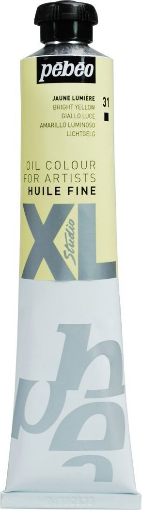 Pebeo Краска масляная XL цвет желтый светлый 80 мл