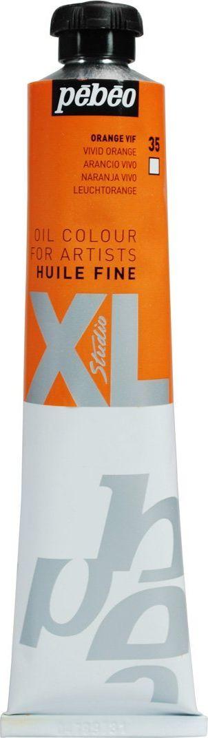 Pebeo Краска масляная XL цвет ярко-оранжевый 80 мл