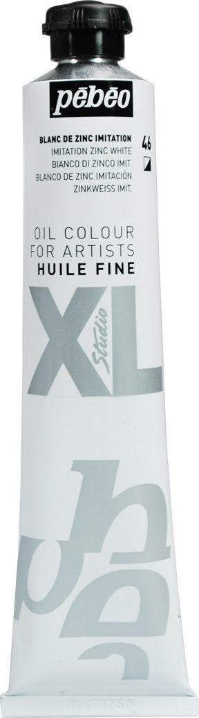 Pebeo Краска масляная XL цвет белила цинковые 80 мл