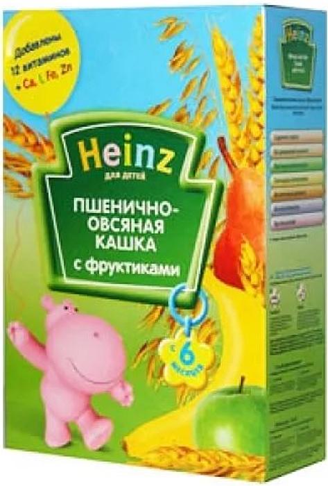 Heinzкаша пшенично-овсяная с фруктиками, с 6 месяцев, 200 г Heinz