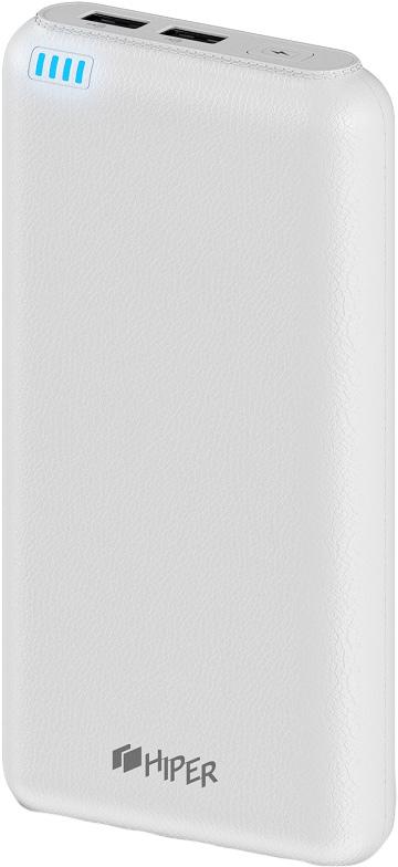 лучшая цена HIPER Power Bank SP20000, White внешний аккумулятор (20000 мАч)