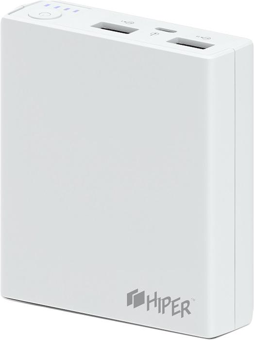 Внешний аккумулятор Hiper Power Bank RP7500, White (7500 мАч)