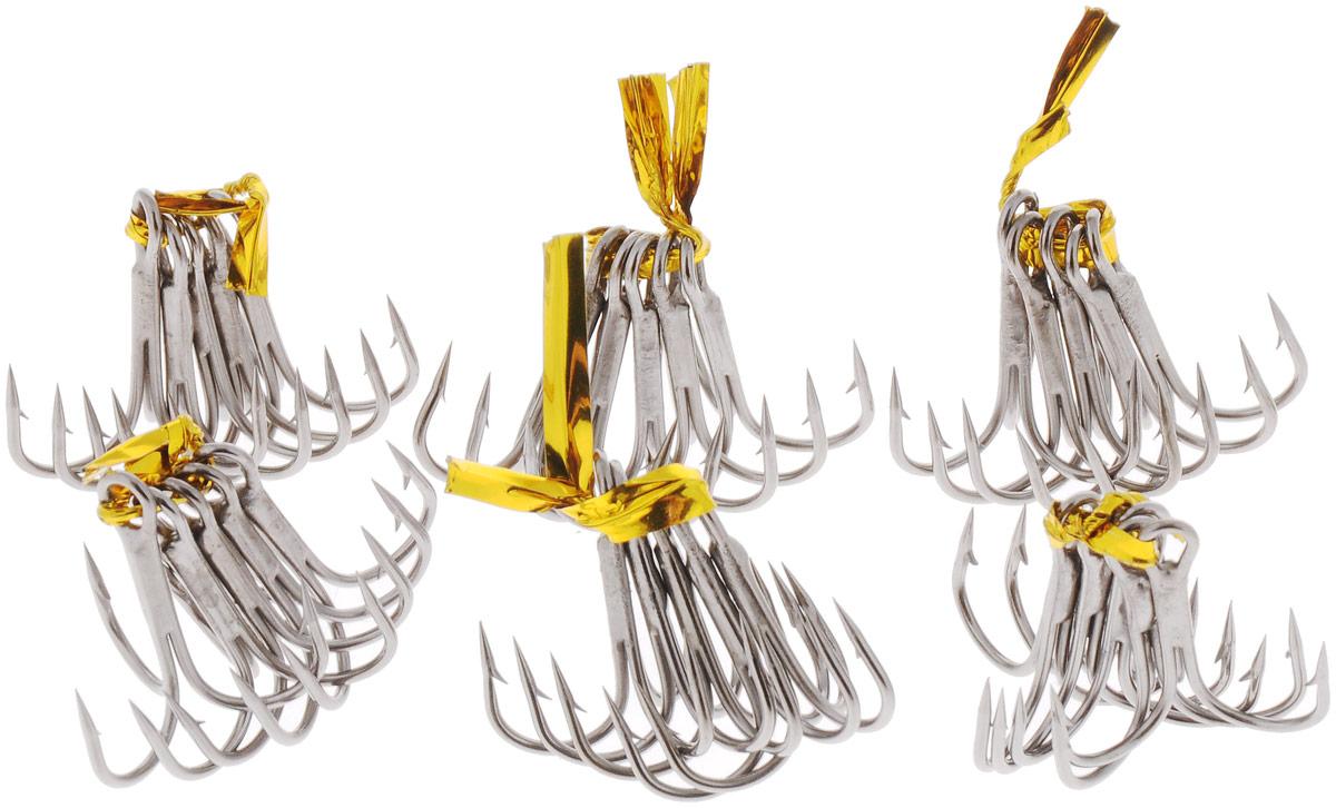 Крючок рыболовный SWD Scorpion, тройной, №5, 30 шт