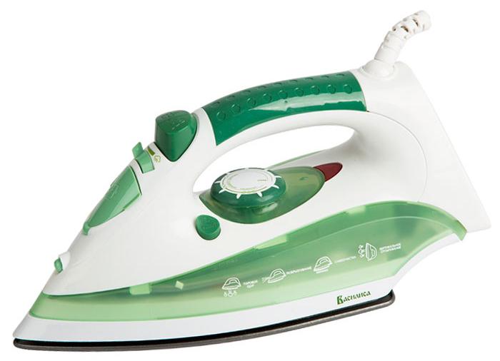 лучшая цена Василиса У2-2000, White Green утюг