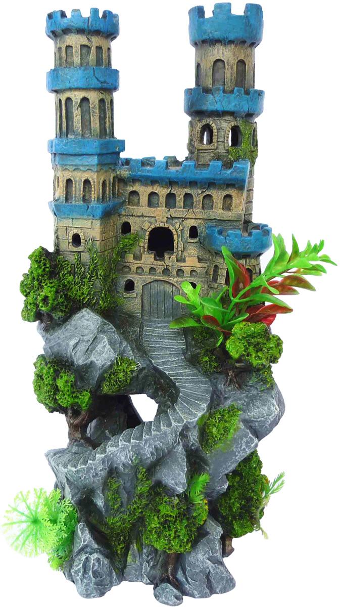 Грот Meijing Aquarium Башни. AC-069AC-069Аквариумный грот – это отличный элемент дизайна. Оригинальные аквариумные украшения придают подводному ландшафту завершенный вид, что крайне важно, ведь одной из главнейших функций аквариума в интерьере является функция эстетическая. Но декорация-грот – это еще и прекрасное укрытие для рыбок и иных обитателей подводного мира. Особенно – в том случае, если кто-либо из ваших питомцев проявляет излишнюю агрессивность по отношению к соседям. В таком случае грот для аквариума окажется совершенно незаменимым. Грот Meijing Aquarium прекрасно впишется в любой интерьер аквариума. А в сочетании с другими элементами декора сделает среду обитания ваших рыбок максимально приближенной к морской среде. Декорация абсолютно безвредна для рыб и растений. Грот тонет и не требует дополнительной фиксации в аквариуме. Может использоваться как в пресной, так и в морской воде. Изделие не токсично, не тускнеет и не теряет цвета, краска не облазит.