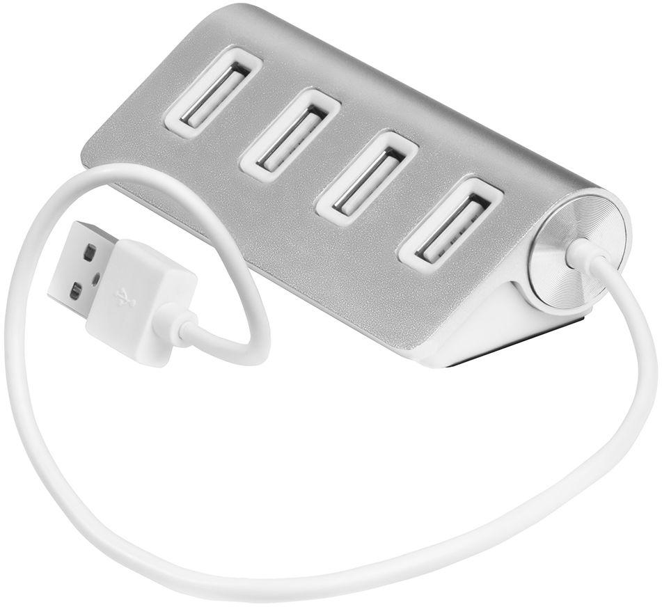 GCR UH224, Silver USB-концентратор