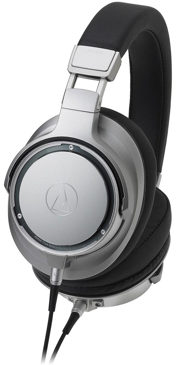 Audio-Technica ATH-SR9, Silver Black наушники