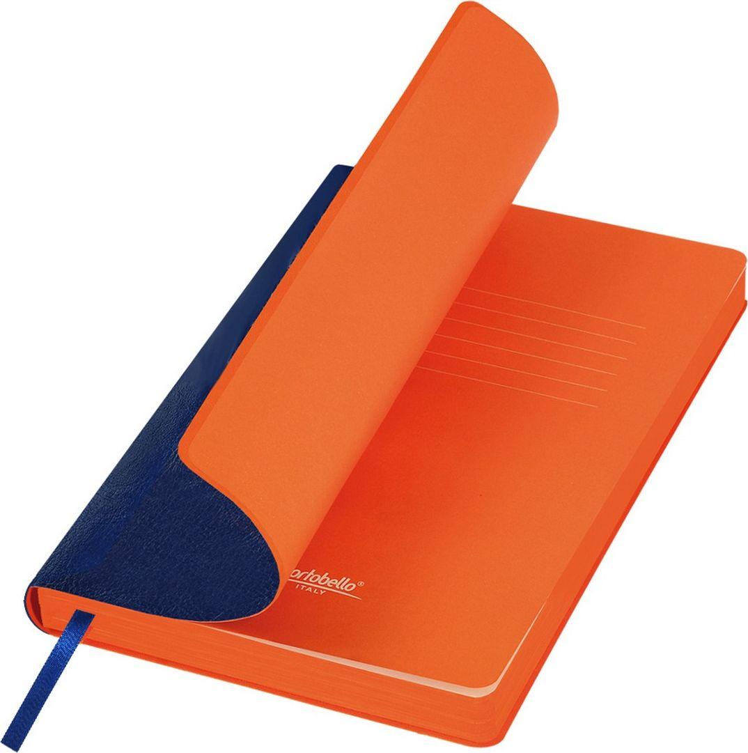 Portobello Trend Ежедневник недатированный River Side 128 листов цвет синий оранжевый