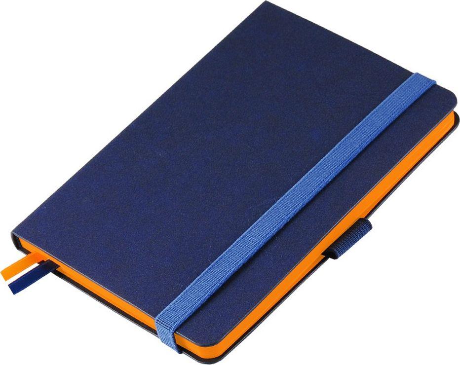 Portobello Trend Ежедневник недатированный Blue Ocean 88 листов цвет синий оранжевый
