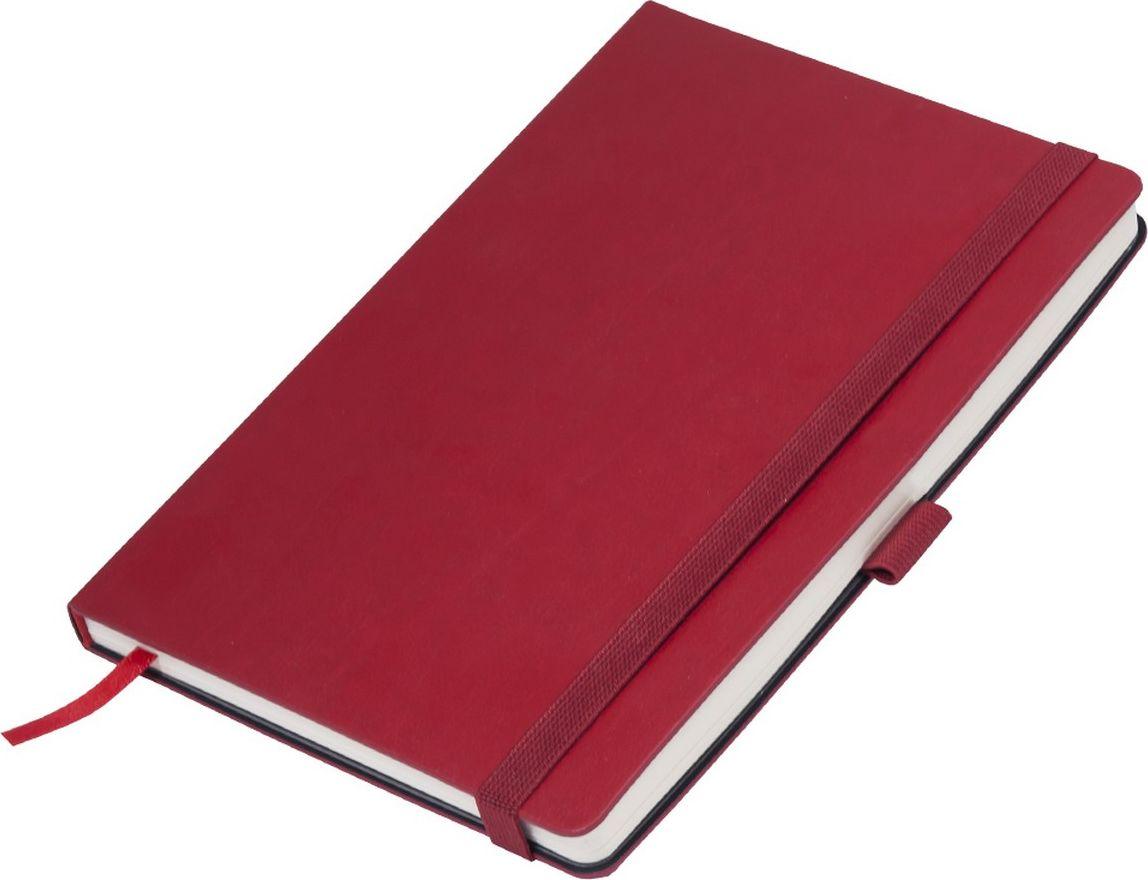 Portobello Trend Ежедневник недатированный Monte 128 листов цвет красный серый