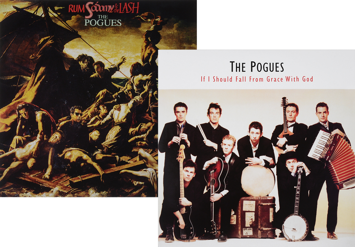 The Pogues The Pogues. If I Should Fall From Grace With God / Rum, Sodomy And The Lash (2 LP) the pogues peace and love lp