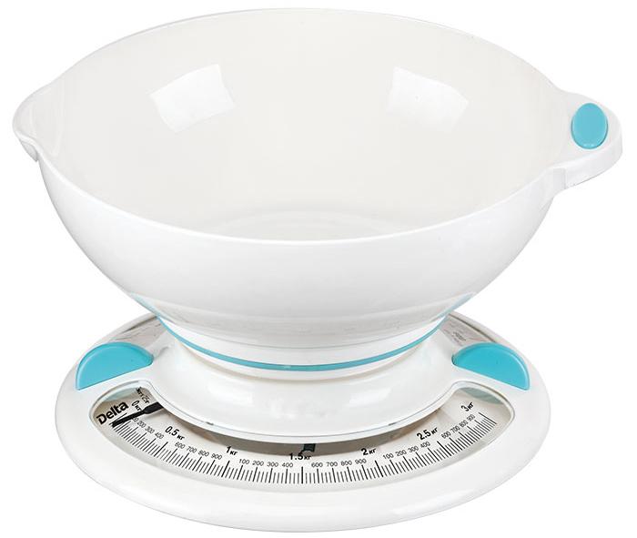 Delta КСА-103, White Blue весы кухонные