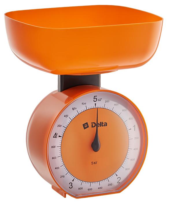 Кухонные весы Delta КСА-104, Orange Delta