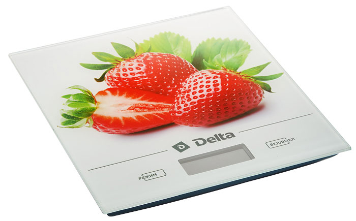 Фото - Кухонные весы Delta КСЕ-29 Клубника батарея delta hr 12 5 5ач 12b