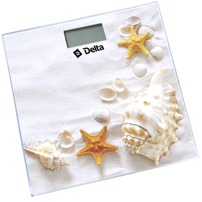 Напольные весы Delta D-9226 Ракушки весы напольные delta d 9227 бабочка