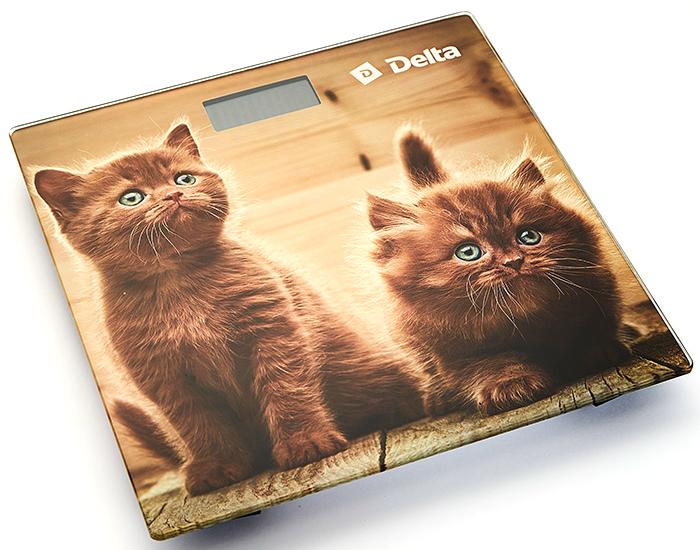 Delta D-9229 Рыжие котята весы напольные весы напольные delta d 9227 бабочка