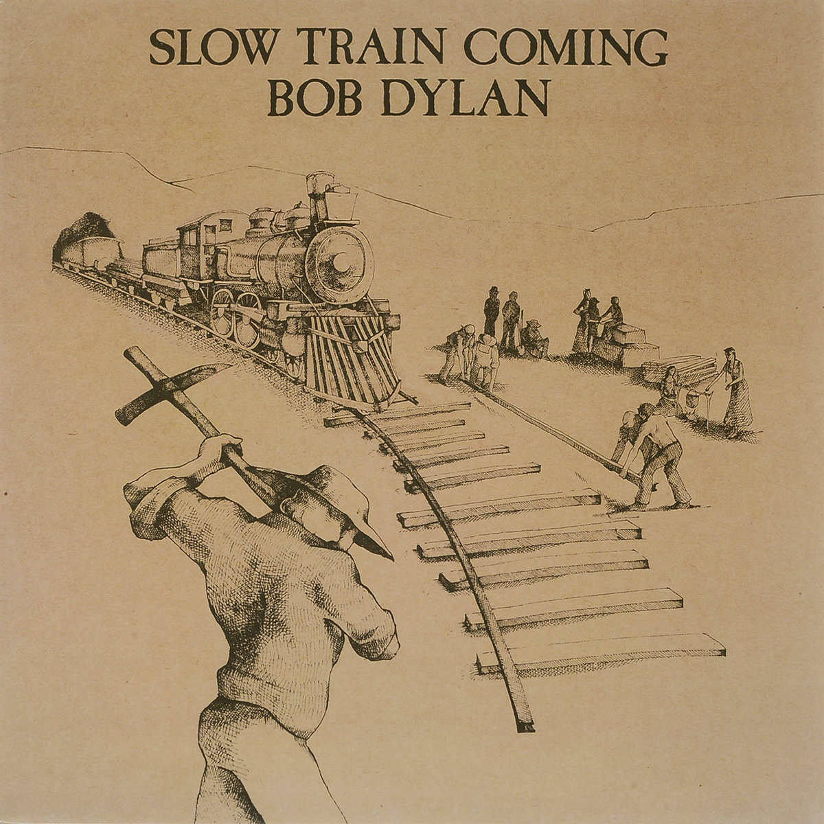 Боб Дилан Bob Dylan. Slow Train Coming (LP) david silver a slow train coming