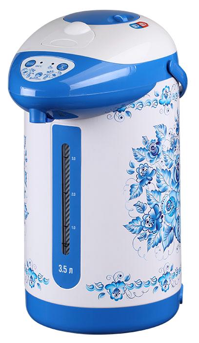 лучшая цена Василиса ВА-5001 Гжель чайник-термос электрический