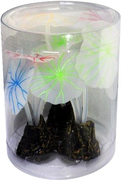 Светящийся декор Meijing Aquarium Грибы. AM0014 светящийся декор грибы прозрачные желтые 12 9 9 sh006 y