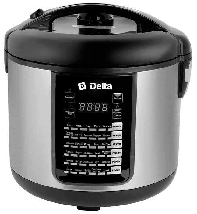 Мультиварка Delta DL-6516, Black