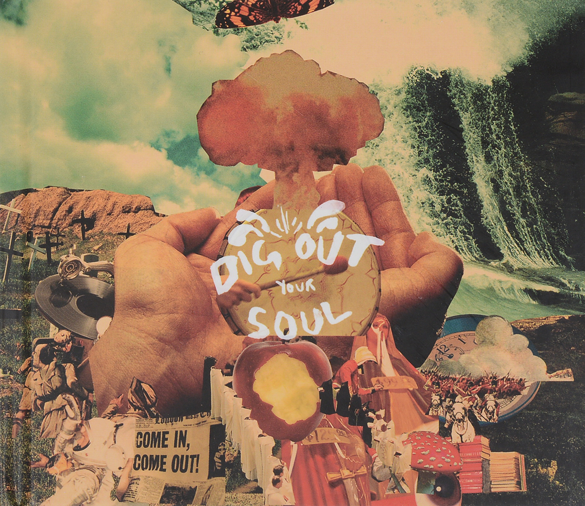 Oasis Oasis. Dig Out Your Soul (CD + DVD) dig dogs dig