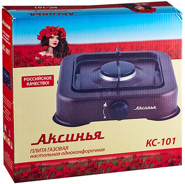 Аксинья КС-101, Brown плита газовая Аксинья