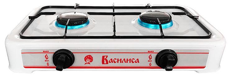 лучшая цена Настольная плита Василиса ГП2-1080 газовая