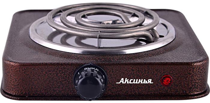 лучшая цена Настольная плита Аксинья КС-005, Brown электрическая
