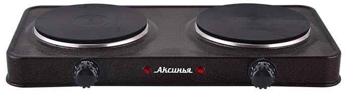 лучшая цена Настольная плита Аксинья КС-008, Brown электрическая