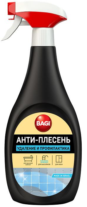 Средство для удаления плесени в ванных комнатах Bagi Анти-Плесень, 500 мл тряпки чистящие bagi 20 х 20 см