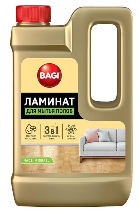 "Средство для ухода за полами из ламината Bagi ""Ламинат"", 550 мл"