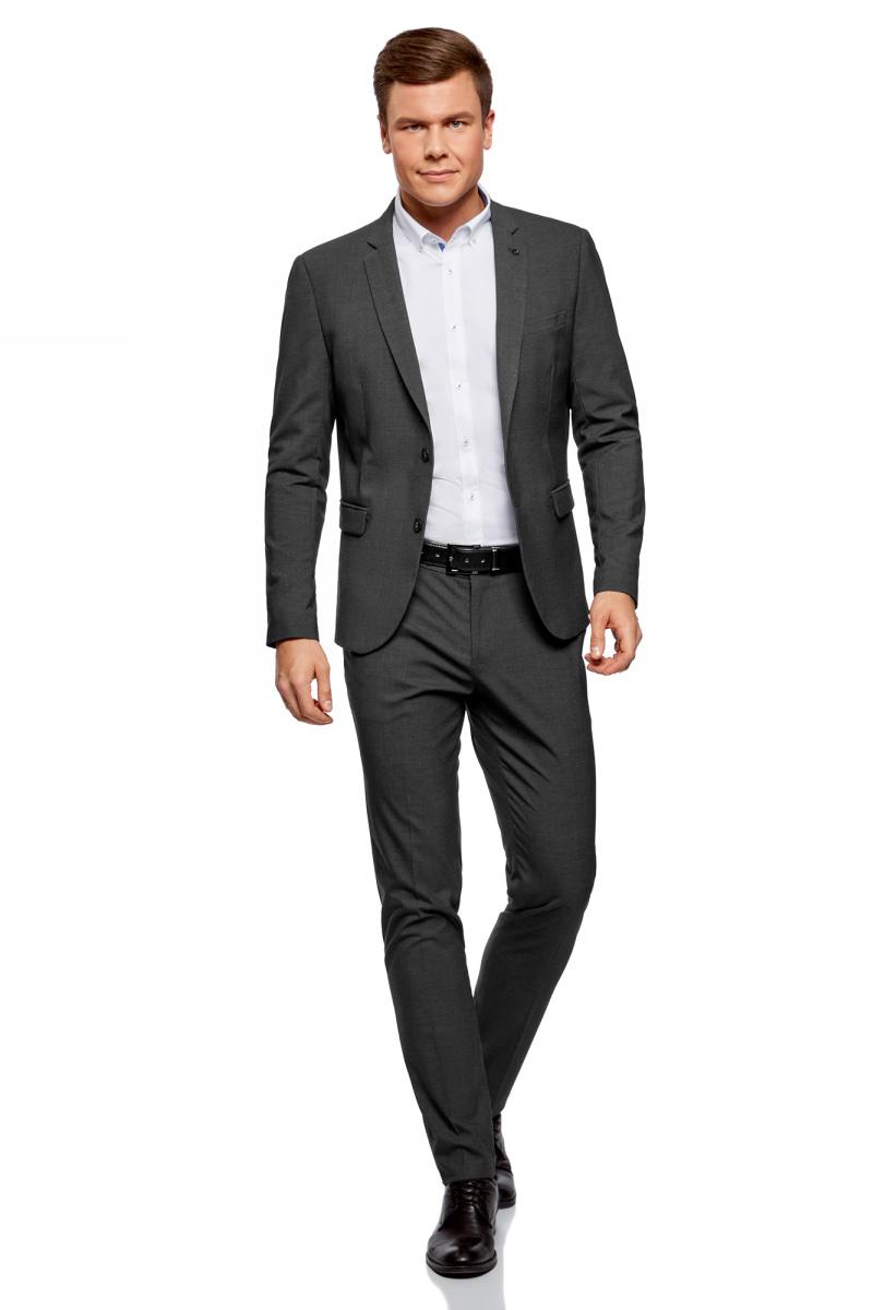 Пиджак oodji Basic китайский пиджак мужской