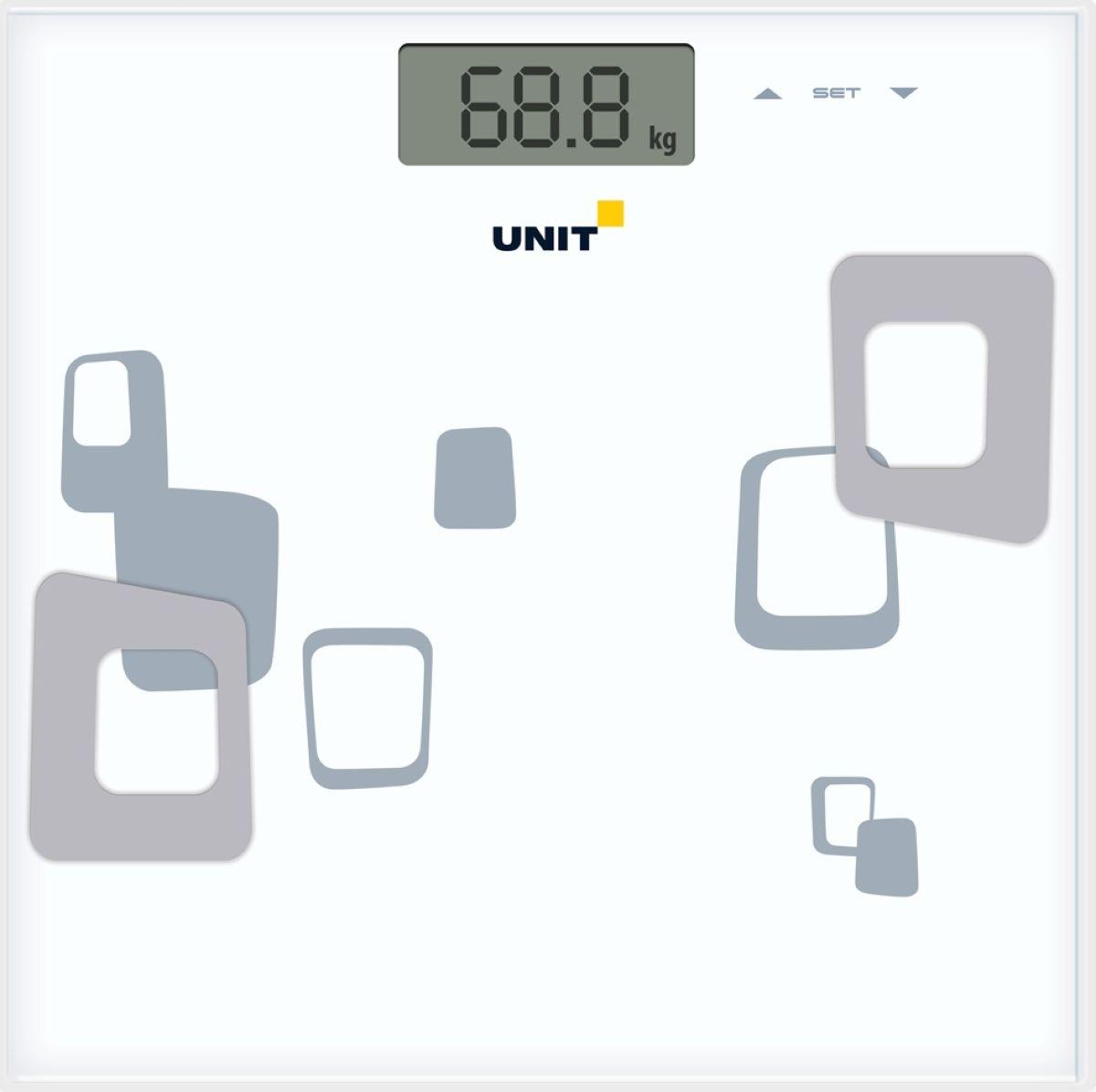Unit UBS-2220, Whiteнапольные весы Unit
